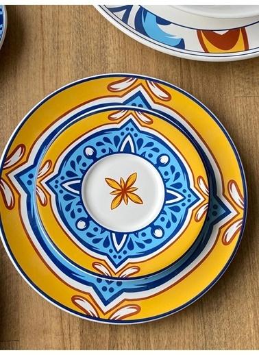 ROSSEV Sofra & Kahvaltı  Seti Toscana 46 Parça 6 Kişilik Renkli